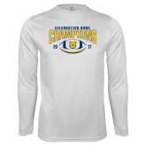 Syntrel Performance White Longsleeve Shirt-2017 Celebration Bowl