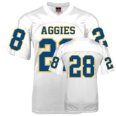 Replica White Adult Football Jersey-#28
