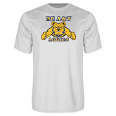 Performance White Tee-NC A&T Aggies