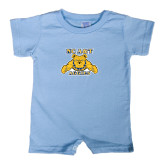 Light Blue Infant Romper-NC A&T Aggies