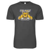 Next Level SoftStyle Charcoal T Shirt-NC A&T Aggies