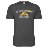 Next Level SoftStyle Charcoal T Shirt-Aggie Pride