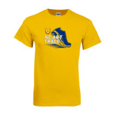 Gold T Shirt-Cross Country Sneaker