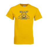 Gold T Shirt-NC A&T Aggies