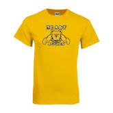 Gold T Shirt-NC A&T Aggies