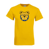 Gold T Shirt-Bulldog Head