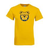 Gold T Shirt-Bulldog Head