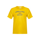 Youth Gold T Shirt-Aggie Pride