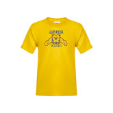 Youth Gold T Shirt-Track