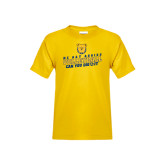 Youth Gold T Shirt-Volleyball Can You Dig It