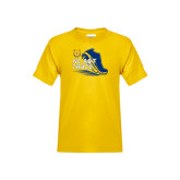 Youth Gold T Shirt-Cross Country Sneaker