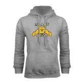 Grey Fleece Hoodie-NC A&T Aggies