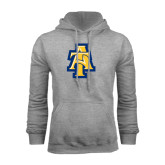 Grey Fleece Hoodie-AT