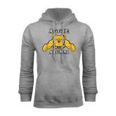 Grey Fleece Hoodie-Alumni