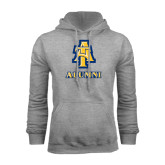 Grey Fleece Hood-Alumni