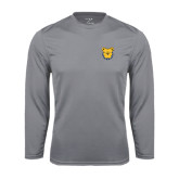 Syntrel Performance Steel Longsleeve Shirt-Bulldog Head