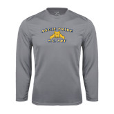 Performance Steel Longsleeve Shirt-Aggie Pride