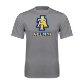 Performance Grey Concrete Tee-Alumni