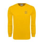 Gold Long Sleeve T Shirt-NC A&T Aggies