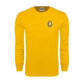 Gold Long Sleeve T Shirt-AT