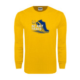 Gold Long Sleeve T Shirt-Cross Country Sneaker