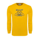 Gold Long Sleeve T Shirt-NC A&T Aggies