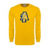 Gold Long Sleeve T Shirt-AT