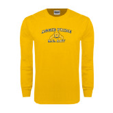 Gold Long Sleeve T Shirt-Aggie Pride