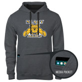 Contemporary Sofspun Charcoal Heather Hoodie-NC A&T Aggies