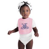 Light Pink Baby Bib-NC A&T Aggies