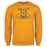 Gold Fleece Crew-NC A&T Aggies