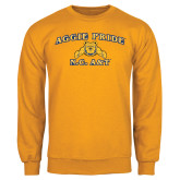 Gold Fleece Crew-Aggie Pride