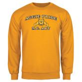 Gold Fleece Crew-Aggie Pride
