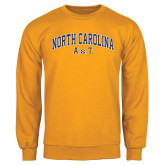 Gold Fleece Crew-Arched North Carolina A&T