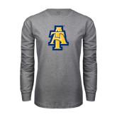 Grey Long Sleeve TShirt-AT