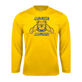 Syntrel Performance Gold Longsleeve Shirt-Alumni
