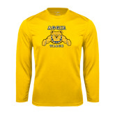 Performance Gold Longsleeve Shirt-Track