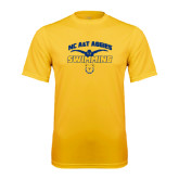 Performance Gold Tee-Swim & Dive Butterfly Swimmer