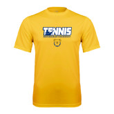 Performance Gold Tee-Tennis Player
