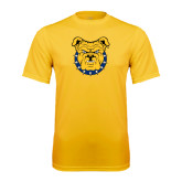 Performance Gold Tee-Bulldog Head