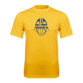 Performance Gold Tee-Tall Football