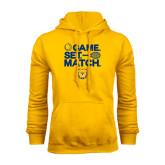 Gold Fleece Hood-Tennis Game Set Match