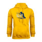 Gold Fleece Hood-Cross Country Sneaker