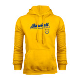 Gold Fleece Hoodie-Baseball Bat
