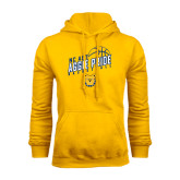 Gold Fleece Hoodie-Basketball Pride