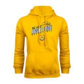 Gold Fleece Hood-Basketball Pride