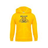 Youth Gold Fleece Hoodie-NC A&T Aggies