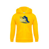 Youth Gold Fleece Hoodie-Cross Country Sneaker