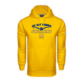 Under Armour Gold Performance Sweats Team Hood-Swim & Dive Butterfly Swimmer