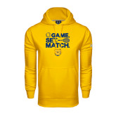 Under Armour Gold Performance Sweats Team Hood-Tennis Game Set Match
